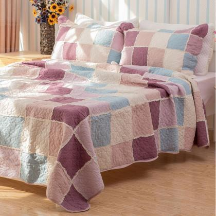 Bedsure 3-Piece Printed Quilt Set Q..