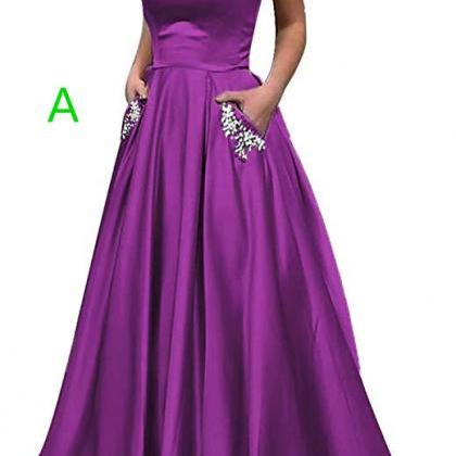 2019 Homecoming Dress Satin Straple..