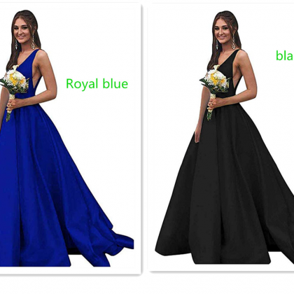 Women's Strapless Beaded Prom Dress..