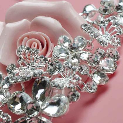 Bridal jewelry wedding dress weddin..