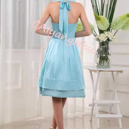 Bridesmaid Dress Short Prom Dresses..