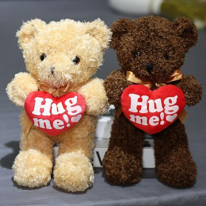 Love bear hug heart teddy bear hug ..