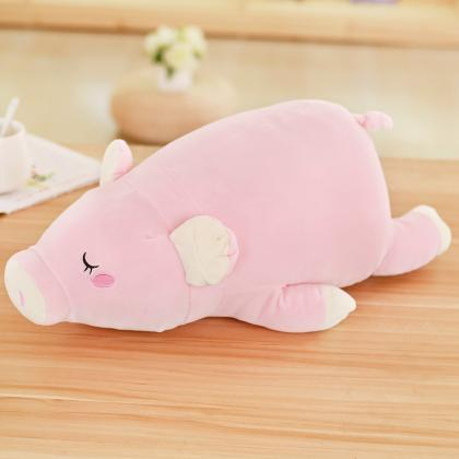 Soft lying pig plush toy pig doll r..