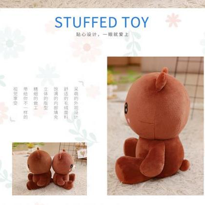 Stuffed Animal Baby Bear Plush Doll..