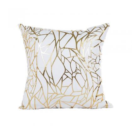Set of 4 Decorative Throw Pillow Co..