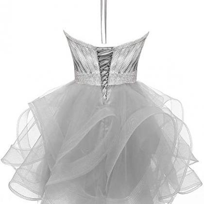 Women's Strap Organza Dress For Jun..