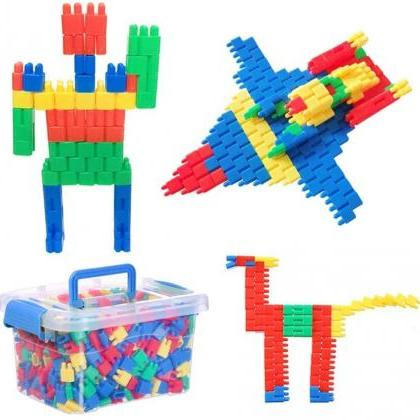 Kids Bullet-Shaped Construction Bui..