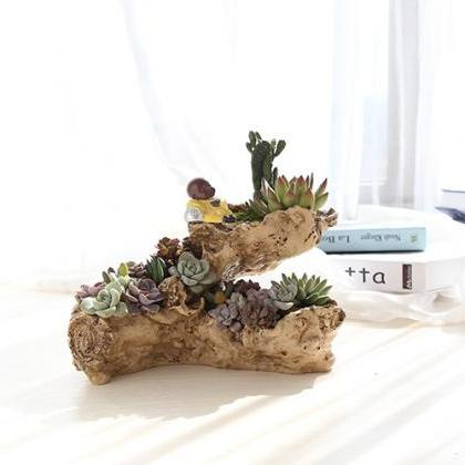 Three-hole Succulent Flower Pot Han..