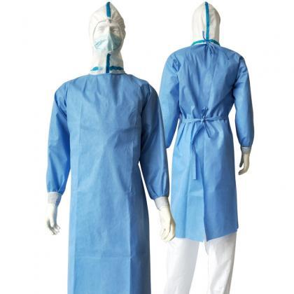 6 PCS Disposable Isolation Gowns, U..