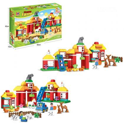 Children's building block toys 3-6..