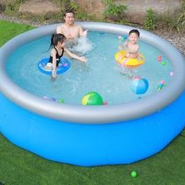 Thickened round clip net swimming p..