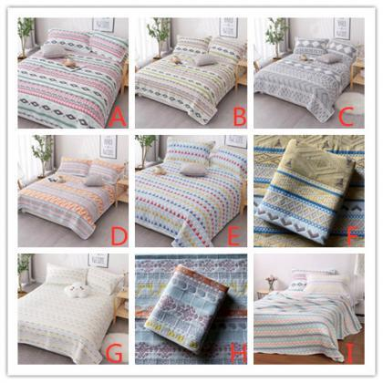 Pure cotton gauze blanket air condi..