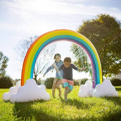 Rainbow Sprinkler Toys, Outdoor Inf..
