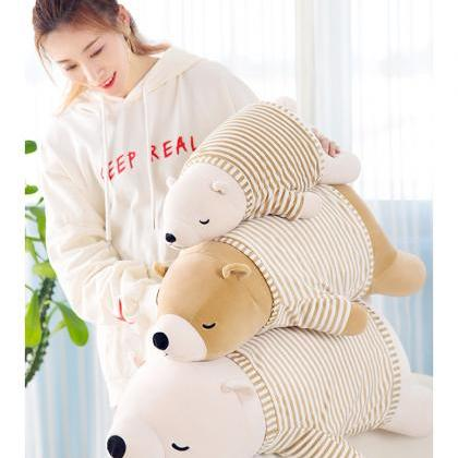 27 Inches Soft Plush Polar Bear Pil..