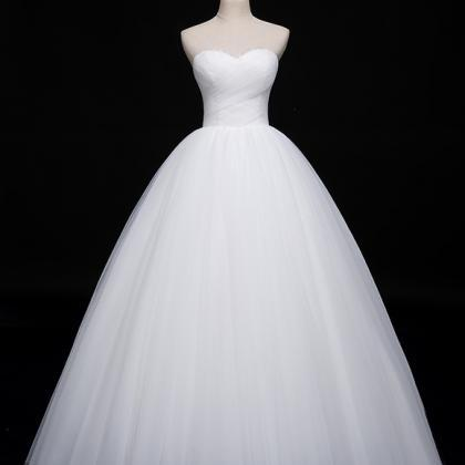 Tube top wedding dress 2020 new bri..