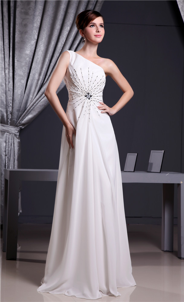 Chiffon bridesmaid dress wedding party prom dress