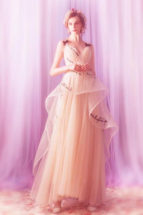 Prom party ball gown birthday party evening dress wedding dress