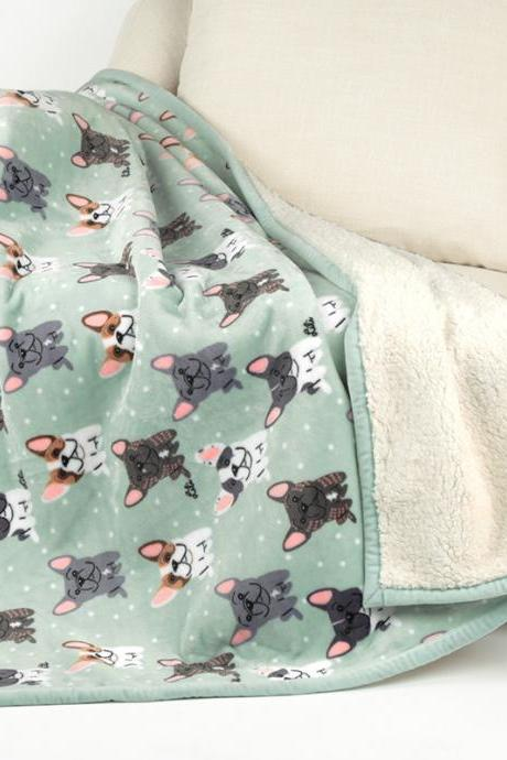 Flannel Blanket Double-layer Cartoon Single Blanket Manufacturers Imitation Lamb Compound Blanket Children's Air Conditioning Blanket