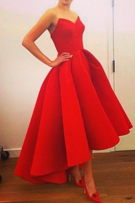 Evening dress wedding bride bridesmaid dress red long toast host dinner party dress