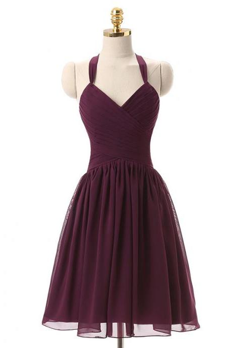 Short dress bridesmaids Prom Party Dress