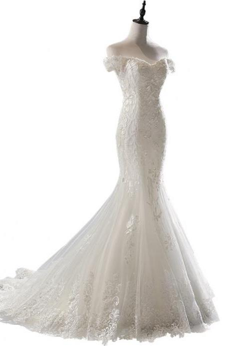 2020 New Mermaid Wedding Dress
