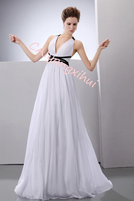 Womens Evening Dress Ball Gown Prom Party Wedding Formal Long Chiffon Maxi Dresses