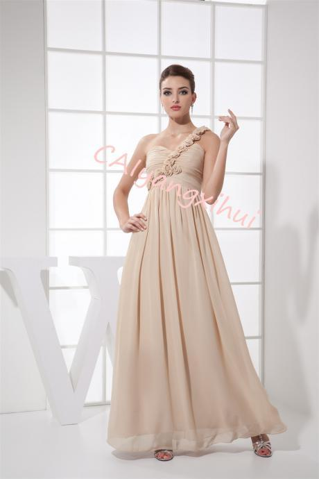 Women's Prom Dresses Chiffon Long Formal Evening Gowns