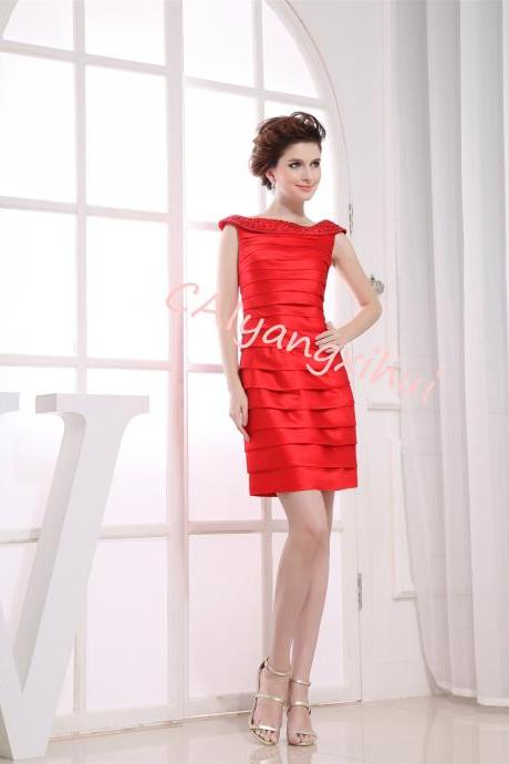 Women Casual Dress Party Evening Wedding Dress Homecoming Dress Short Cocktail Dress
