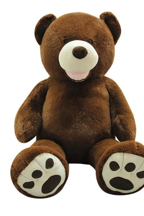 Big bear plush toy cute doll bow tie teddy bear doll birthday gift