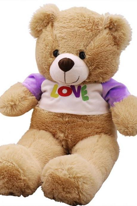 Teddy bear cute love bear doll rag doll plush toy wedding girl gift