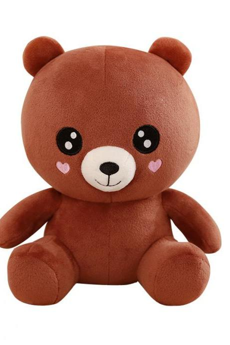 Baby Bear Plush Doll Panda Doll Love Brown Bear Doll Gift