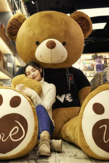Giant Teddy Bear Soft Plush Bear Stuffed Animal for Girlfriend Kids