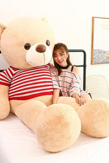 Extra Large Plush Teddy Bear Sweater Plush Bear Sweater Bear Girlfriend Child Birthday Gift