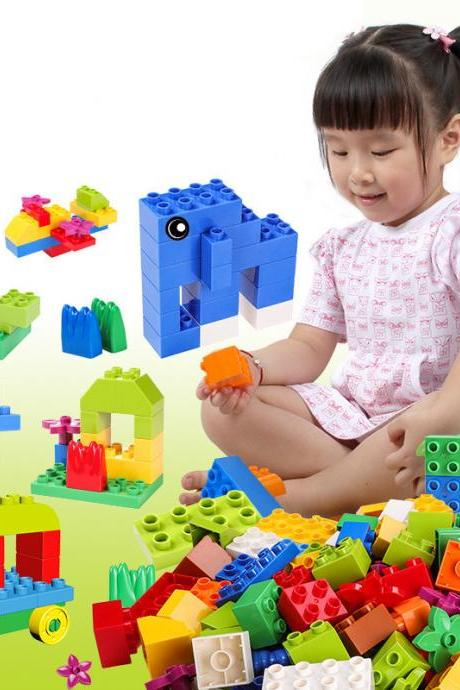 Kids Interactive Toy Building Blocks to Hold Large Particles Assembled Fancy Toy 3-4-5-6 Years Old Childrens Toys