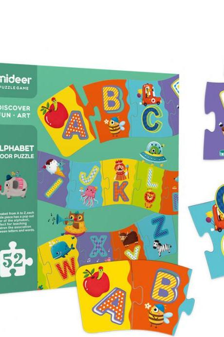 Children's Alphabet Cognitive Jigsaw Puzzle Large Floor Puzzle Early Education Enlightenment Educational Toys