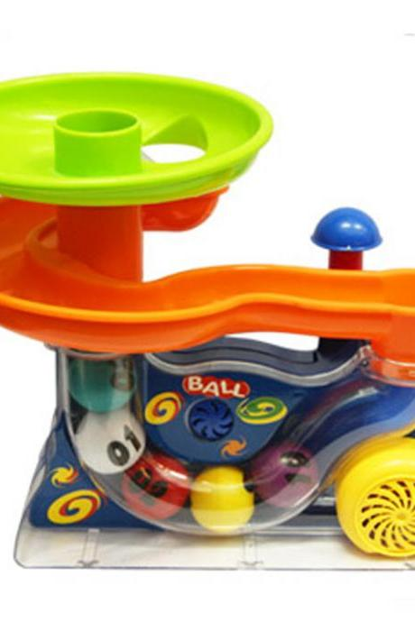 Children's toy ball blower with music Children's blower toy birthday gift