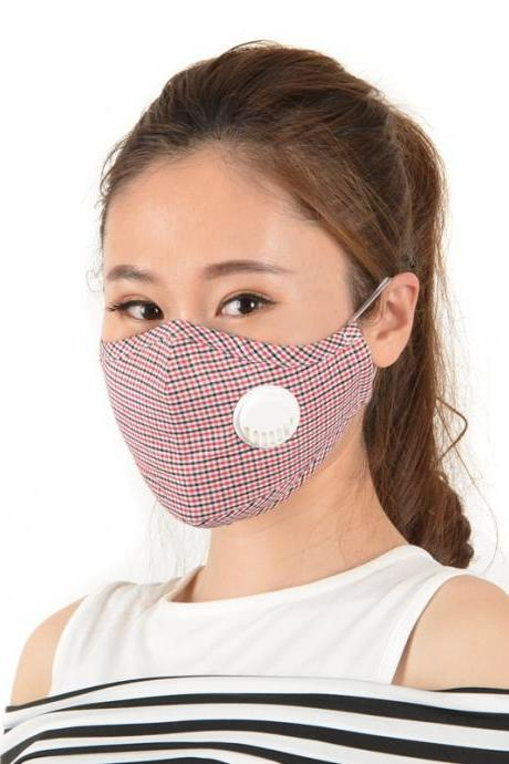 8pcs PM2.5 Protective Mask Earloops Anti-smog Dustproof Washable Reusable Cotton Masks