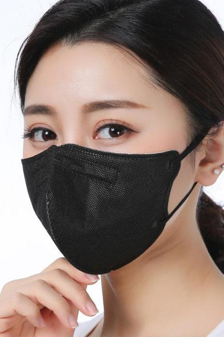 Anti-pollution smoke masks-dust masks-reusable masks, PM2.5 air filter masks, outdoor activated carbon dustproof sports masks (10 mask )