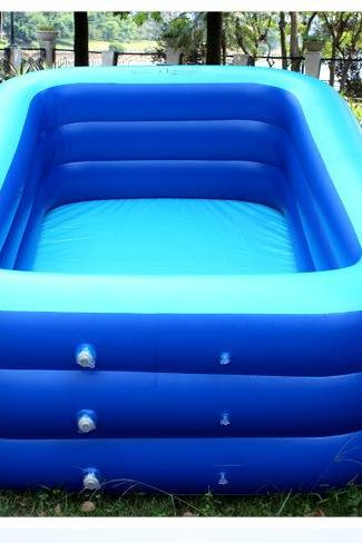 Inflatable Swimming Pool Children Adult Large Paddling Pool Playing Pool Bathing Pool Baby Inflatable Pool