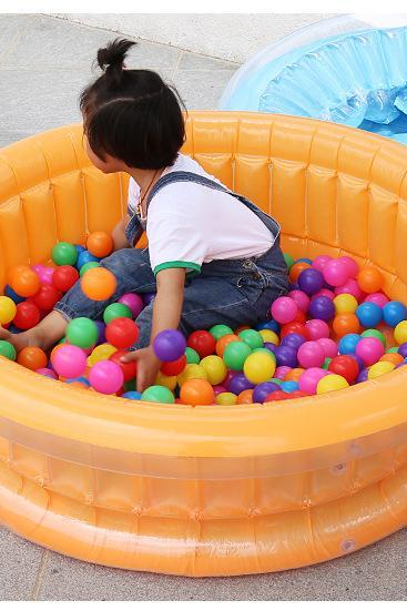 Children's inflatable pool baby swimming pool splashing fishing pool ocean ball pool
