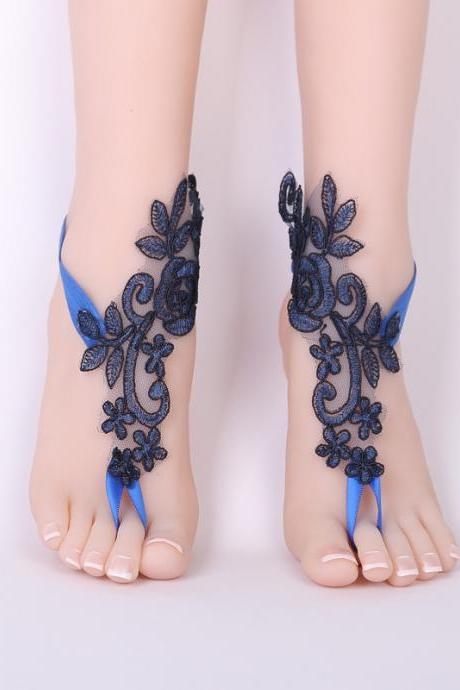 Bridal Lace Footwear Beach Anklet Decoration