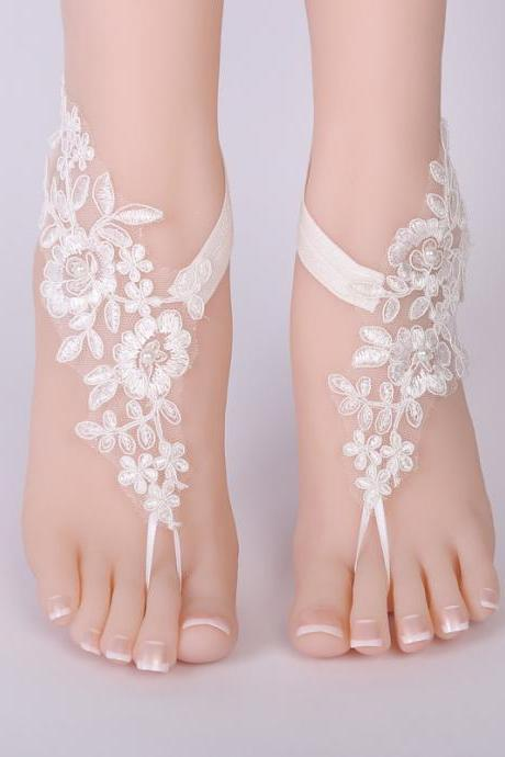 Ethnic style footwear European and American bridal footwear handmade anklet