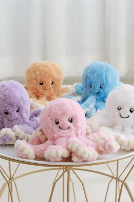 Cute Baby Octopus Plush Doll, Soft Octopus Stuffed Animals Toys for Kids Boys Girls Birthday Xmas Gift ( 31.5'')