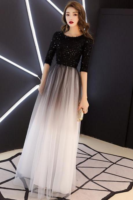 Women's prom dress dress bridesmaid dress evening dress