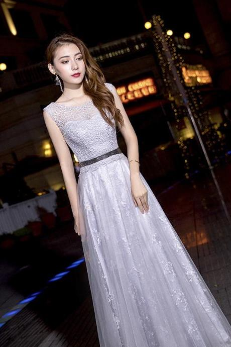 Lace Long Formal Evening Bridesmaid Dresses Maxi Party Ball Prom Gown Dress Plus Size