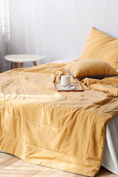 Premium Cotton Oversize Quilt- 78' x 90' - Supersoft Bedspread - Superior Comfort - Breathable - All Season - Machine Washable
