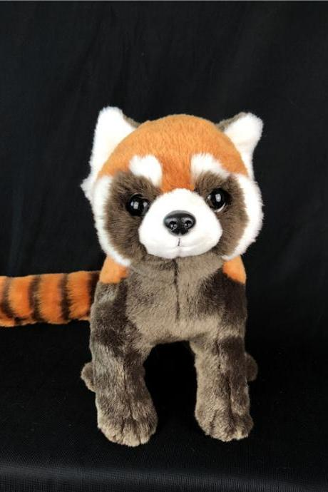 Plush Toys Simulation Red Panda Animal Soft Plush Stuffed Doll Children Toy New Year Gift