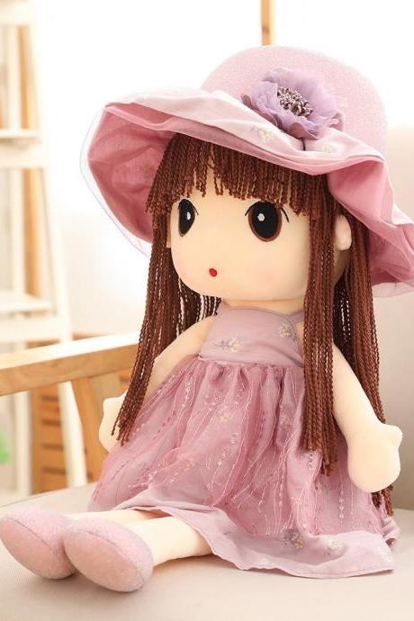 Lovely Flower Fairy Stuffed Soft Plush Toy Doll Girls Christmas / Festival / Birthday Gift , 27.5 Inch
