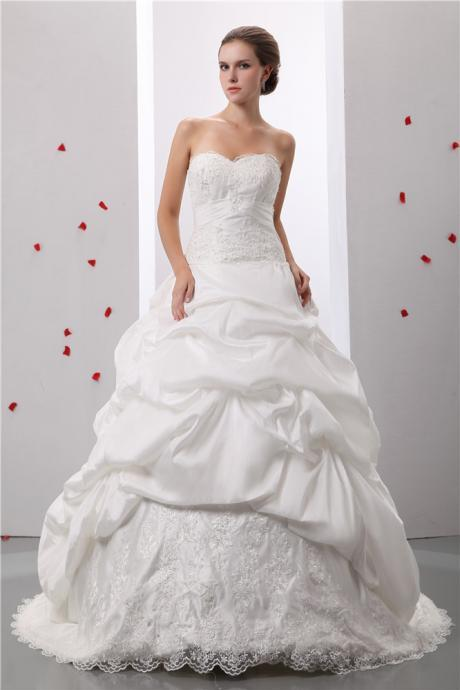 Women's strapless ball gown 2021 long ball gown evening dress formal wedding dress