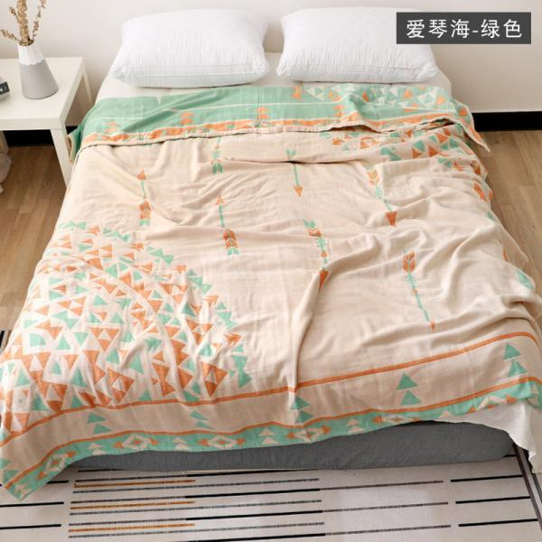 Long-staple cotton towel quilt blanket blanket blanket summer air-conditioning blanket pure cotton